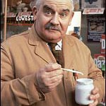 Albert E Arkwright. He's open all hours.