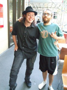 Dave The Happy Singer and Jamie Kilstein