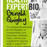 'Health expert' Gerald Quigley