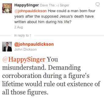 John Dickson Josephus corroboration