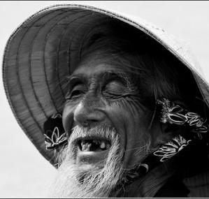 Old guy missing teeth