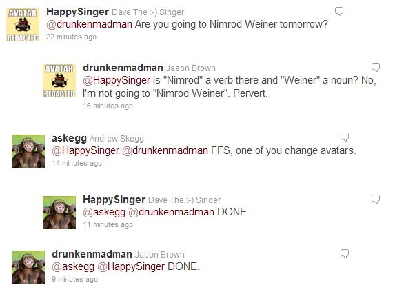 Trolling @askegg