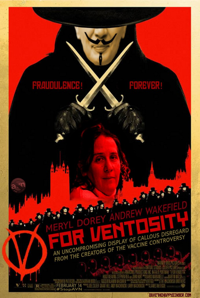 Meryl Dorey and Andrew Wakefield in 'V for Ventosity'
