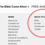 Meanwhile, over at The Christian Post...